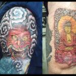 Tattoos on Burnt Skin scars
